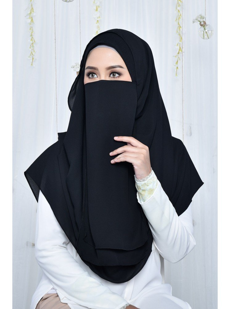 purdah maryam black dove muslimahclothing com