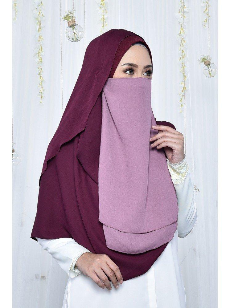 purdah maryam purple lavender muslimahclothing com