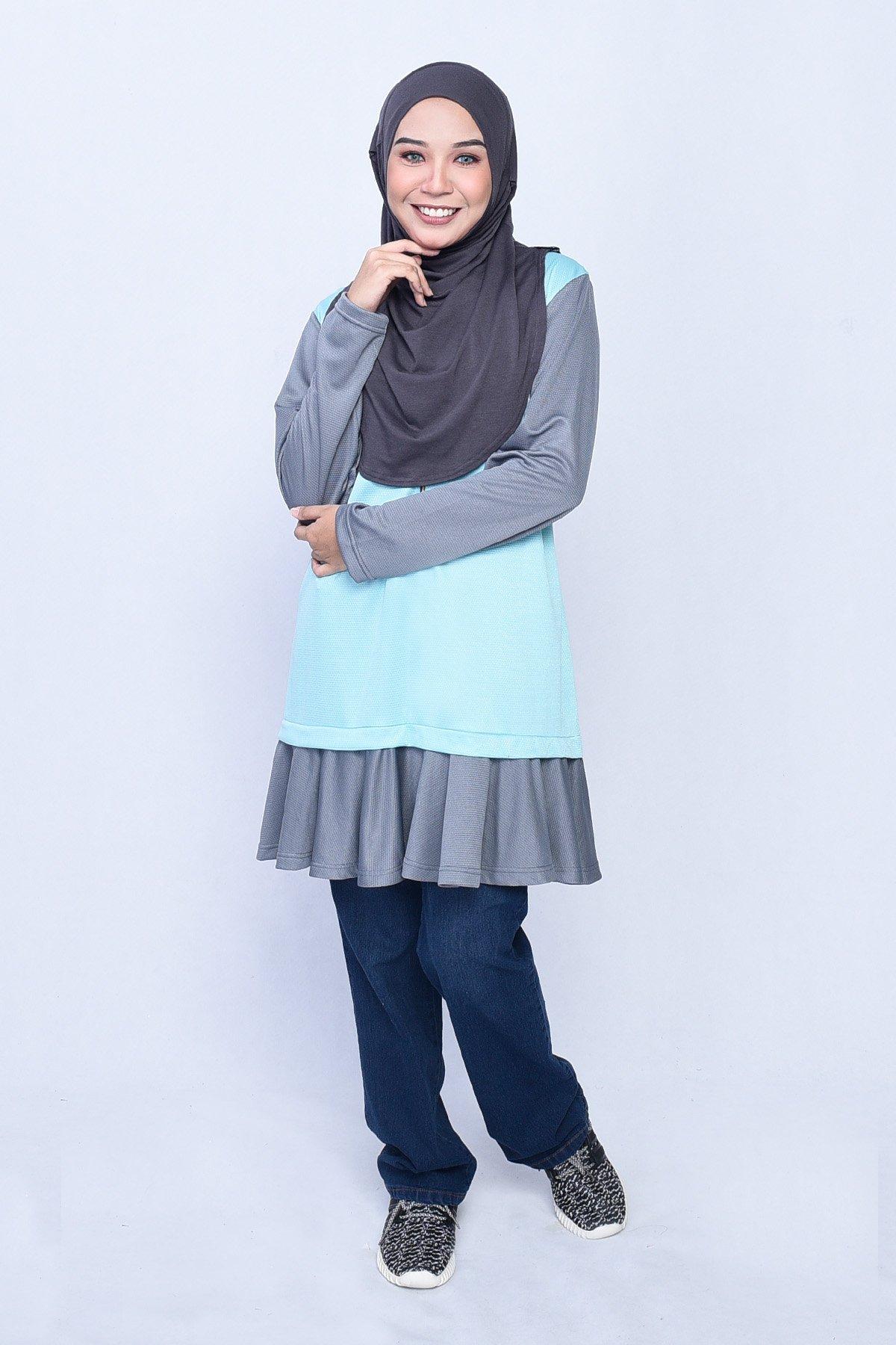 Blouse Adra – Balmy Green – MuslimahClothing.Com 574c9e9091