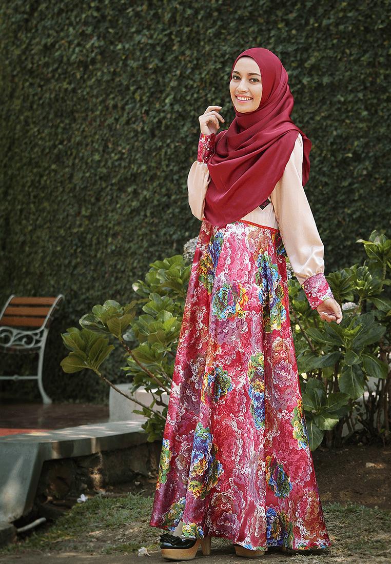 Dress Princess Belle - Nude - MuslimahClothing.Com
